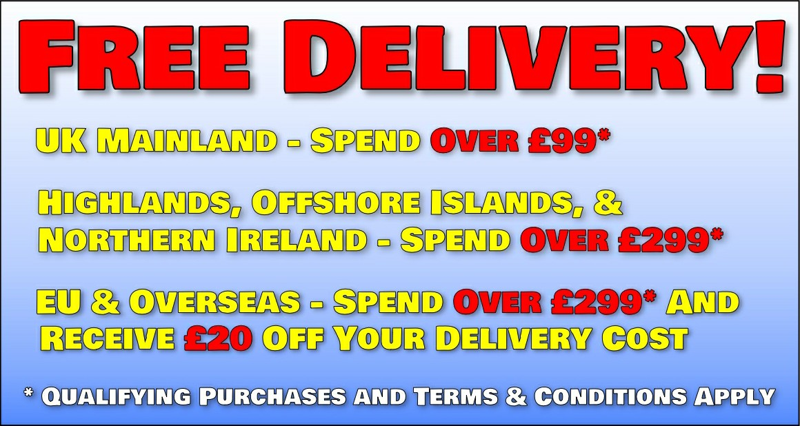 Festive Free Delivery!