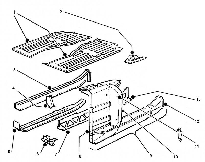 mgb rocker panel diagram   24 wiring diagram images