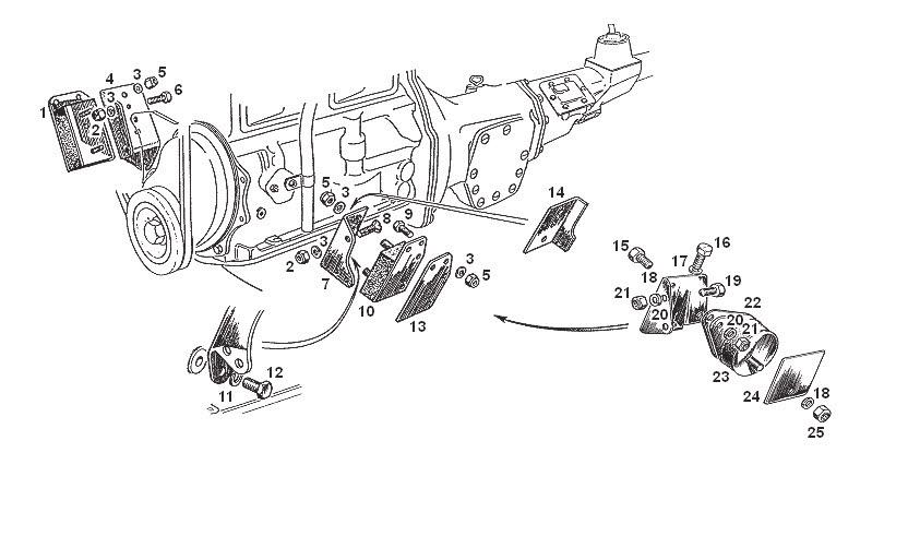 MGB - Engine Mountings