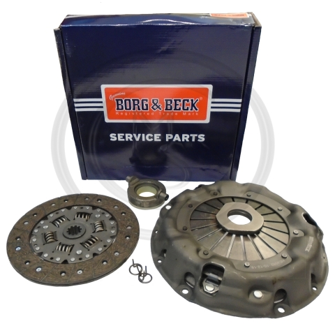 HK8917 Borg /& Beck GCK160 Quality New Cover+Plate+Releaser Clutch Kit 3pc